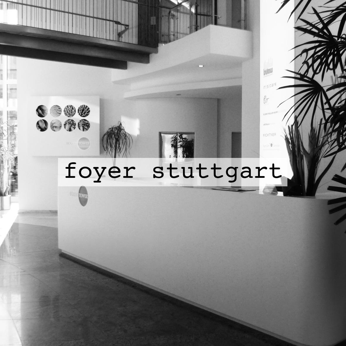 Foyer Bülow Tower Stuttgart